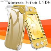 Com cantos reforçados capa protetora nintendo switch lite compatível flexível e transparente