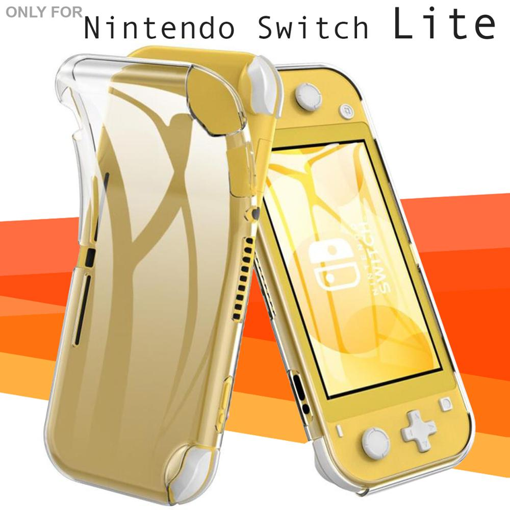 Stand Case With Reinforced Corners Protective Housing Compatible Nintendo Switch Lite Flexible And Transparent