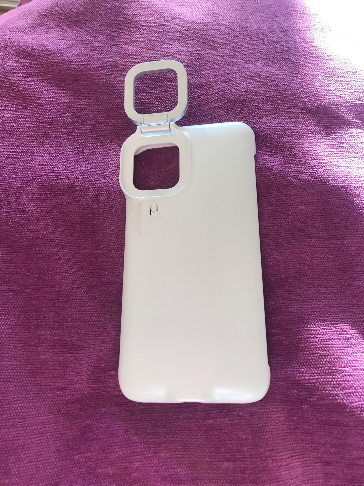 iPhone Selfie Case with Square Ringlight photo review
