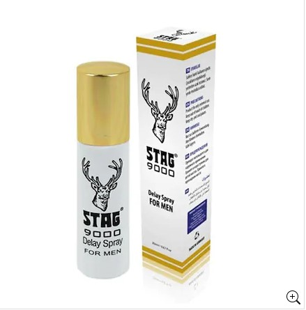 STAG 9000 Delay Spray RETARDANT SPRAY Afrodizyak Sex Toys Delay For Men  Aphrodisiac