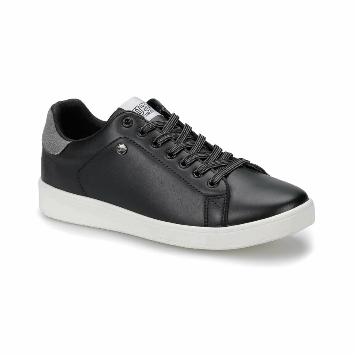 FLO PIZZI Black Men 'S Sneaker Shoes U.S. POLO ASSN.