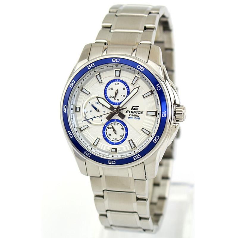 Casio %100 Original Watch Men Brand Luxury 100 m Waterproof Light Chronograph Fashion Luminous Sport Watch Edifice Steel EF-334D