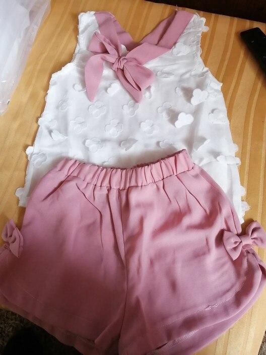 Conjuntos de roupas Roupas Criança Chiffon
