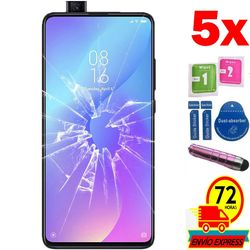 5x ochraniacze ekranu szkło hartowane dla Xiao mi mi 9G PRO (nie pełne patrz informacje) pióro