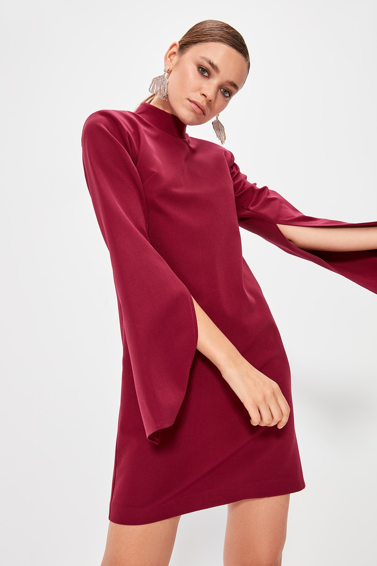 Trendyol Cloak Sleeve Dress TPRAW20EL0882