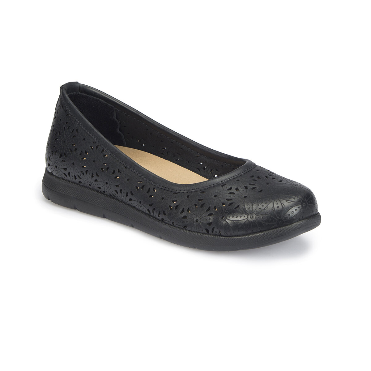 FLO 81.111281.Z Black Women Basic Comfort Polaris
