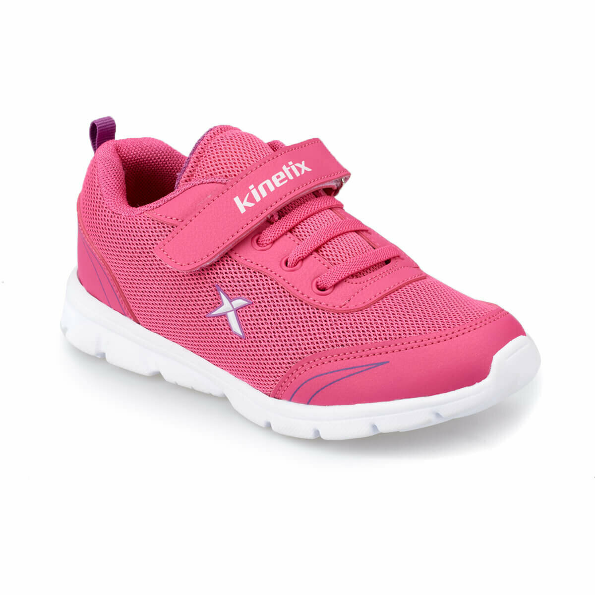 FLO YANNI Fuchsia Female Child Running Shoes KINETIX