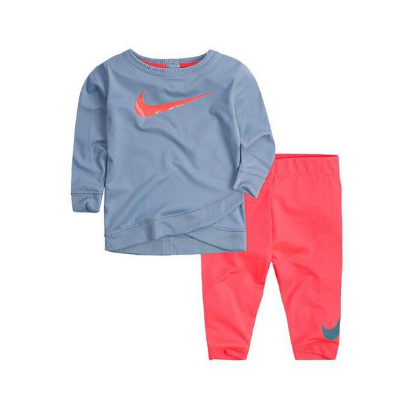 Baby's Tracksuit Nike 669S-A5C Blue Pink