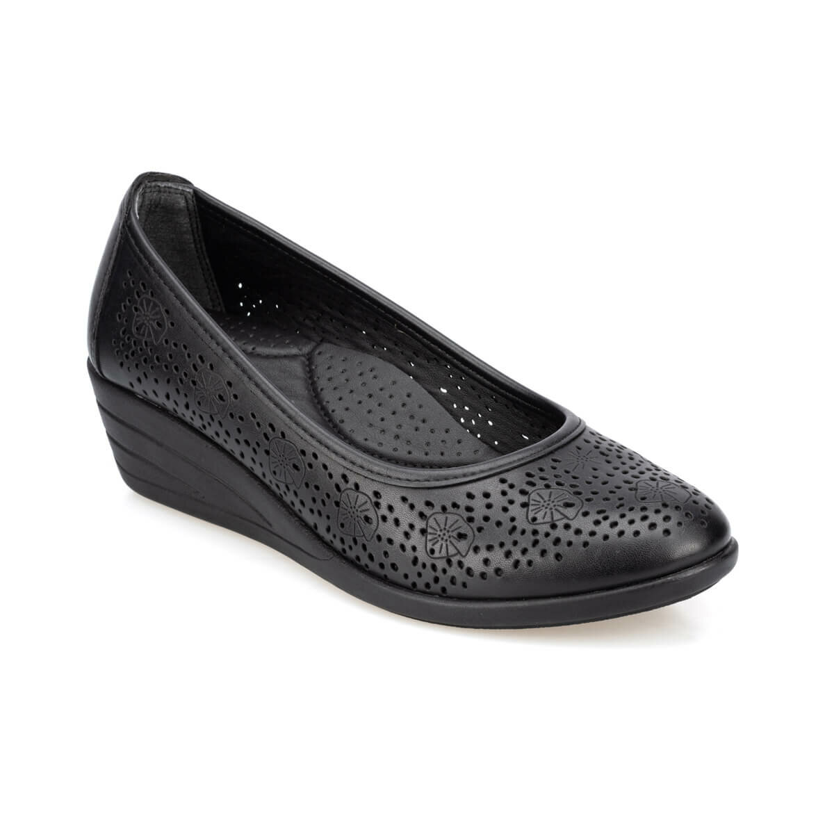 FLO 91.150707.Z Black Women Shoes Polaris