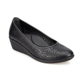 FLO 91 150707 Z czarne buty damskie Polaris tanie i dobre opinie Trzciny
