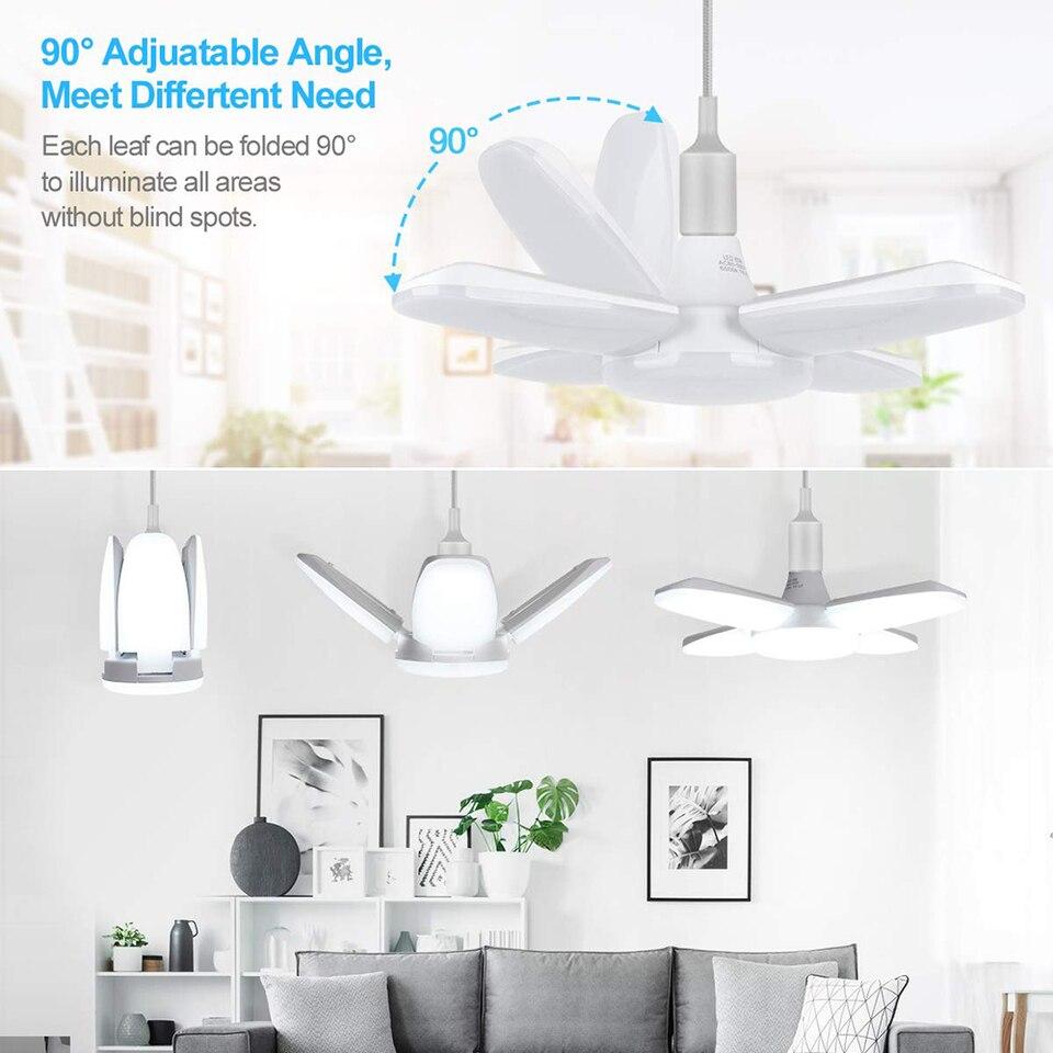 Garage Light Work Led Bulb 6000lm