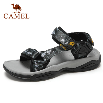 CAMEL Fashion Casual Lightweight  High Quality Men sandals Shoes Non-Slip Slippers Breathable Outdoor Hiking Beach Summer