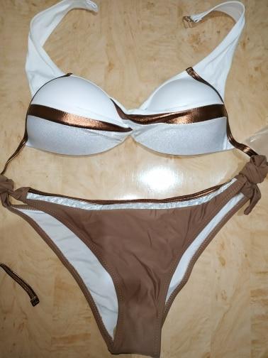 Patchwork Bikini Push Up Bikinis 2020 Woman Bordered Shining Bikini Bathing Suit Women Sequin Swimsuit Solid Plus Size Swimwear|Bikini Set|   - AliExpress