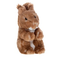 Stuffed & Plush Animals MOLLI Soft toy Squirrel 20 cm for kids games for boys and girls for children soft toys soft plush animals