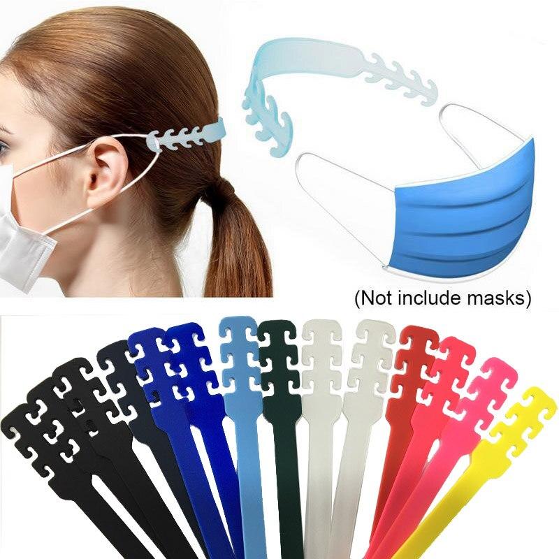 Cinturón extensible para máscarilla y soporte de hebilla de máscara de ajuste de gancho de extensión de salvaorejas