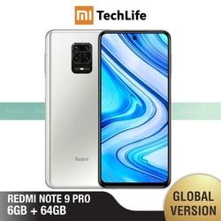 Перейти на Алиэкспресс и купить global version xiaomi redmi note 9 pro 6gb ram 64gb rom (brand new / sealed) redminote9pro, note9pro, smartphone mobile
