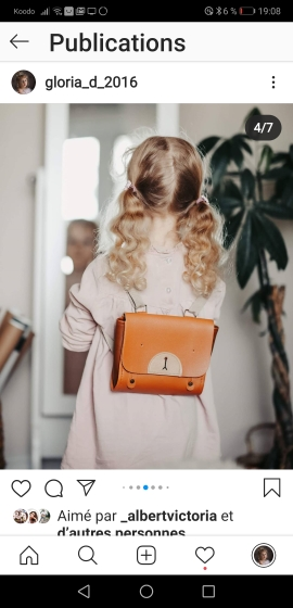 Bear Stylized Leather Backpack for Baby photo review