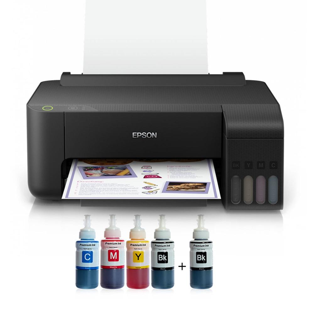 Epson COLOR TANK ITS L1110 Photoink Ink Printer With 4 Color (2 Black Ink Gift)