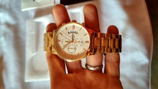 -- chronograph datahomens Relógios