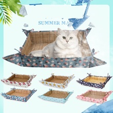 Dog Mat Cooling Summer Pad Mat Ice Cold Cat Dog Mat Dogs Cat Blanket Sofa Breathable Pet Dog Bed Waterproof Mats summer dog cooling mats cat blanket ice pet dog bed mats for dogs cats sofa portable tour camping yoga sleeping pet accessories