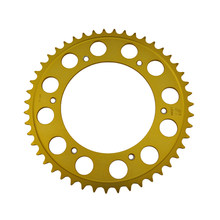 7075-T6 520 47T Motorcycle Chain Rear Sprocket For BMW F650 GS Funduro ST F650GS Dakar 1999-2006 FOR Aprilia 650 Pegaso(China)