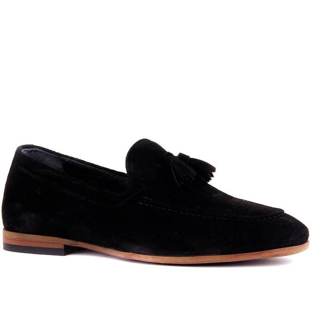 Sail-Lakers Black Suede Men Shoes