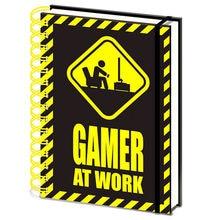 A5 Notebook Gamer at Work Gaming