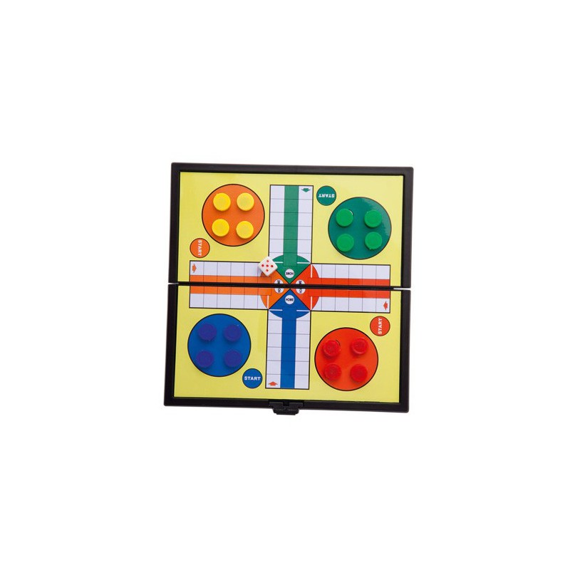 Magnetic Juego PARCHÍS Travel's Pocket-Details And Wedding Gifts For Guests, Holy Communion, October Birthday Party Supply