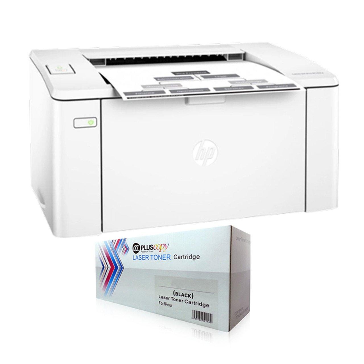 Hp Laserjet Pro M102a A4 Printer G3q34a Full Pluscopy Tonerli Toner Cartridges Aliexpress