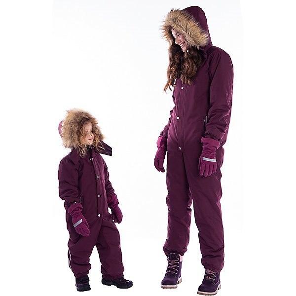 Macacão björka mtpromo bjorka inverno geral para meninas e meninos inverno