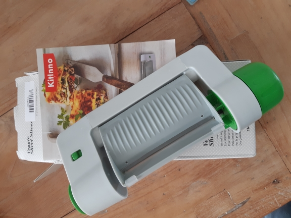 EasySlicer™- Multi-function Fruit & Vegetable Sheet Slicer photo review