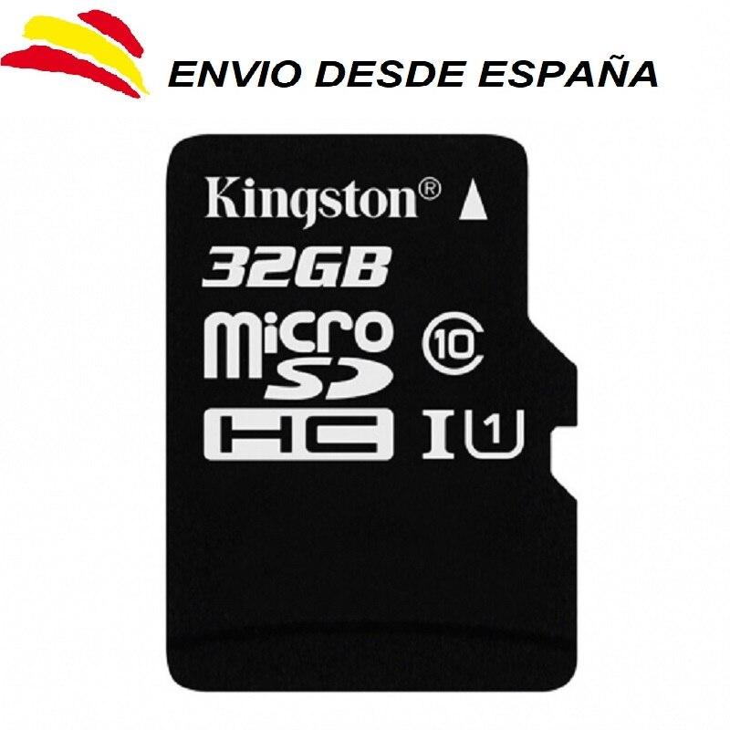 Tarjetas de memoria microsd Kingston SDHC 32 GB Clase 10 micro sd 32GB
