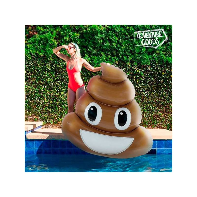 Inflatable Mattress Poo Emotion Adventure Goods