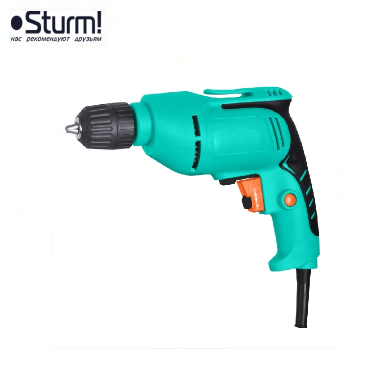 ID2151 Electric drill Sturm, 500 W, reverse, 0-3200 rpm Any drilling work in cramped conditions and at heights цена