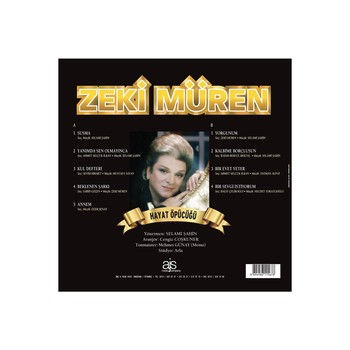 Zeki Müren #8211 Hayat Öpücüğü (LP) Turkish Art Music Most Famous Works of Zeki Müren Music Best Seller Songs tanie i dobre opinie TR (pochodzenie)
