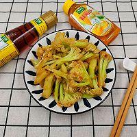 #太太乐鲜鸡汁芝麻香油#0厨艺也能做出鲜掉眉毛的干煸花菜的做法图解6