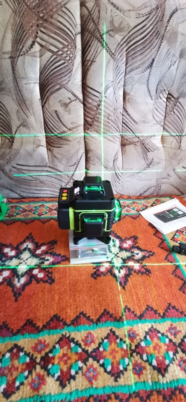 Green Laser 12 to 16 Lines 3 to 4D Laser Level, Self-Leveling 360 Horizontal And Vertical Cross photo review