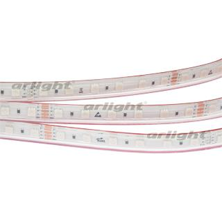 024587 Ribbon RTW 2-5000PS-50m 24V RGB 2x (5060, 60 LED/M, LUX) ARLIGHT 50th