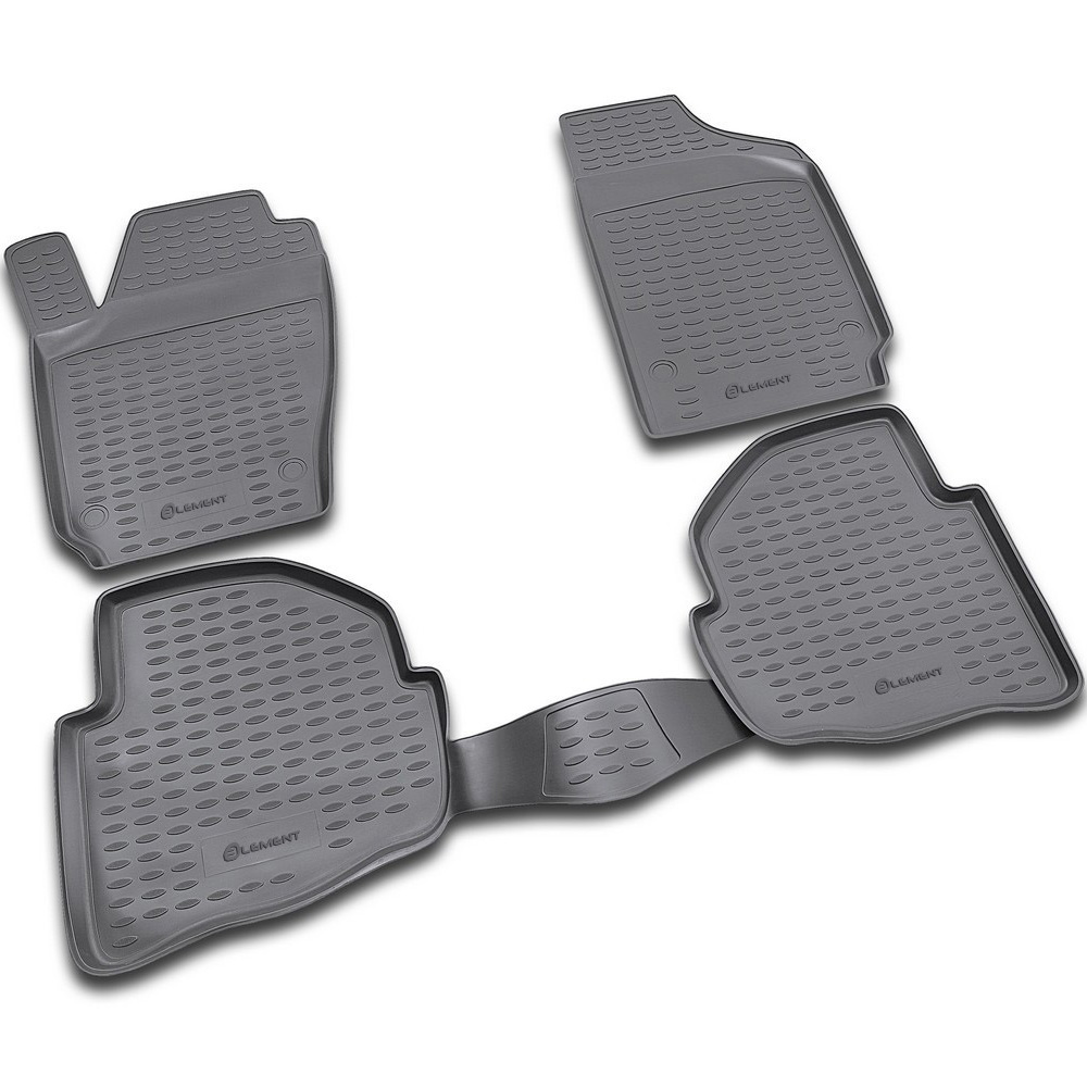 Floor mats for VW Polo 02/2002 2009. NLC.51.08.210|  - title=
