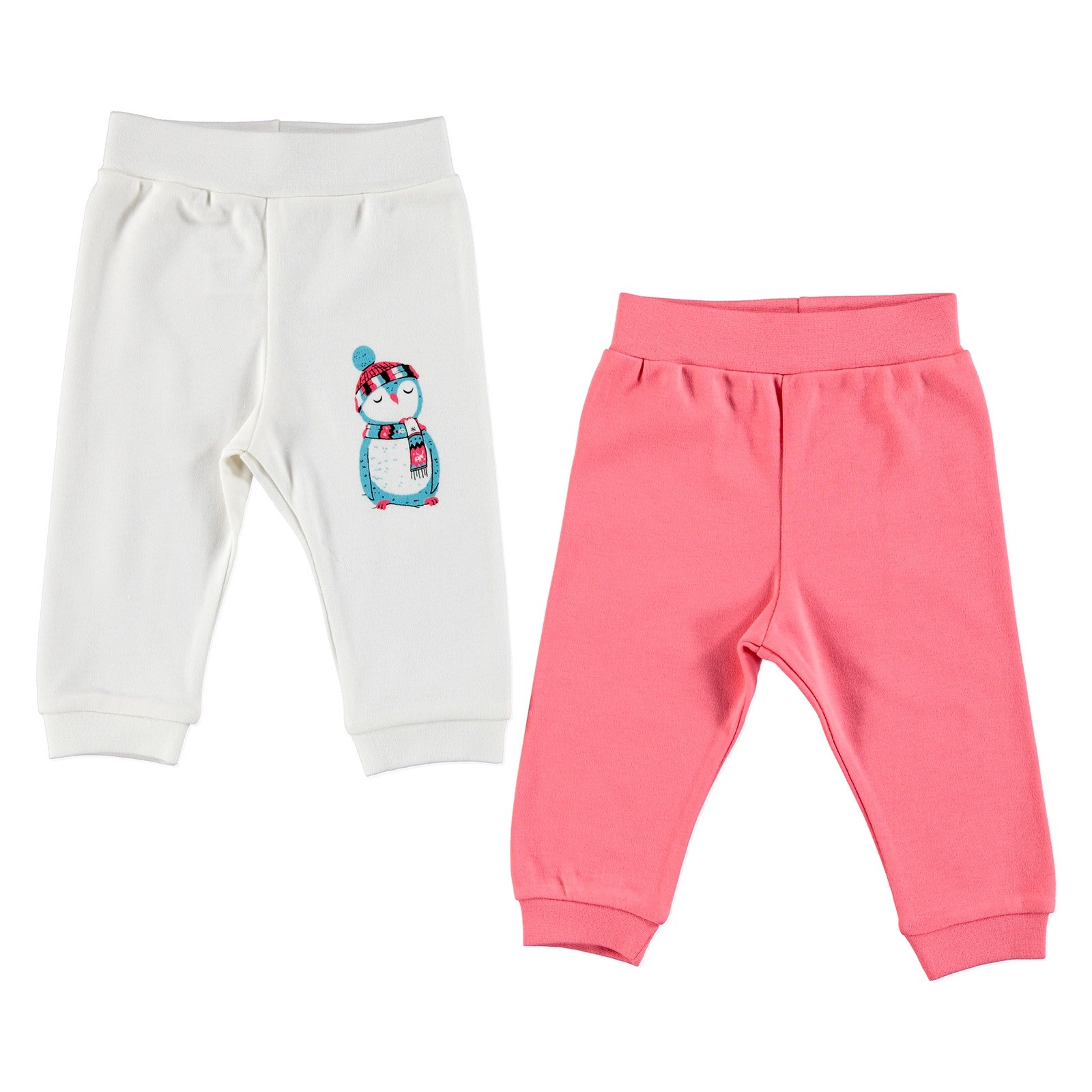Ebebek HelloBaby Baby Footless Trousers 2 Pcs