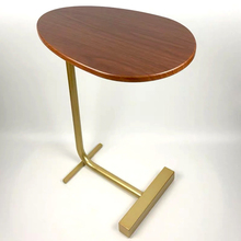 C-Shaped Side Table for Sofa Bedside  Coffee Table Portable Desk for Laptop