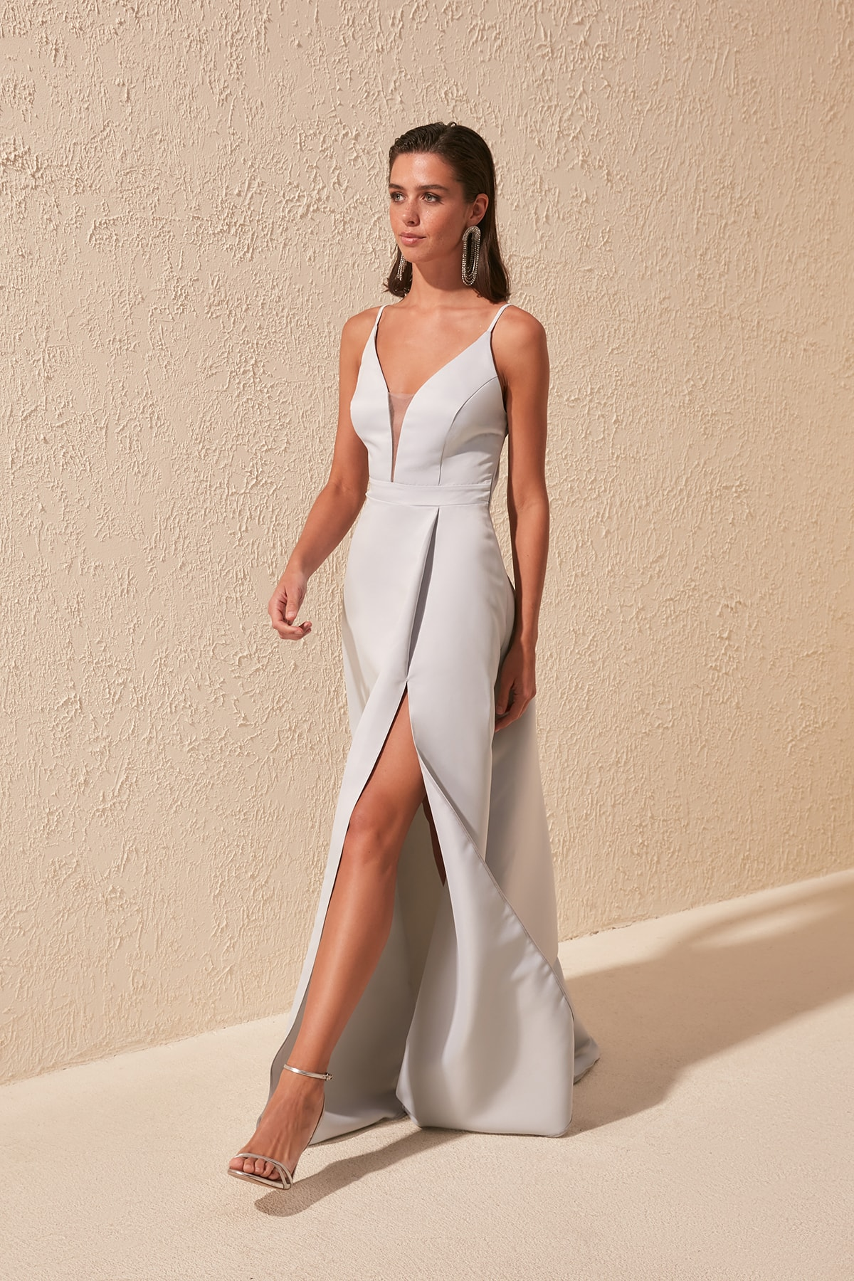 Trendyol Lacing Back Detail Evening Dress & Prom Gown TPRSS20AE0061