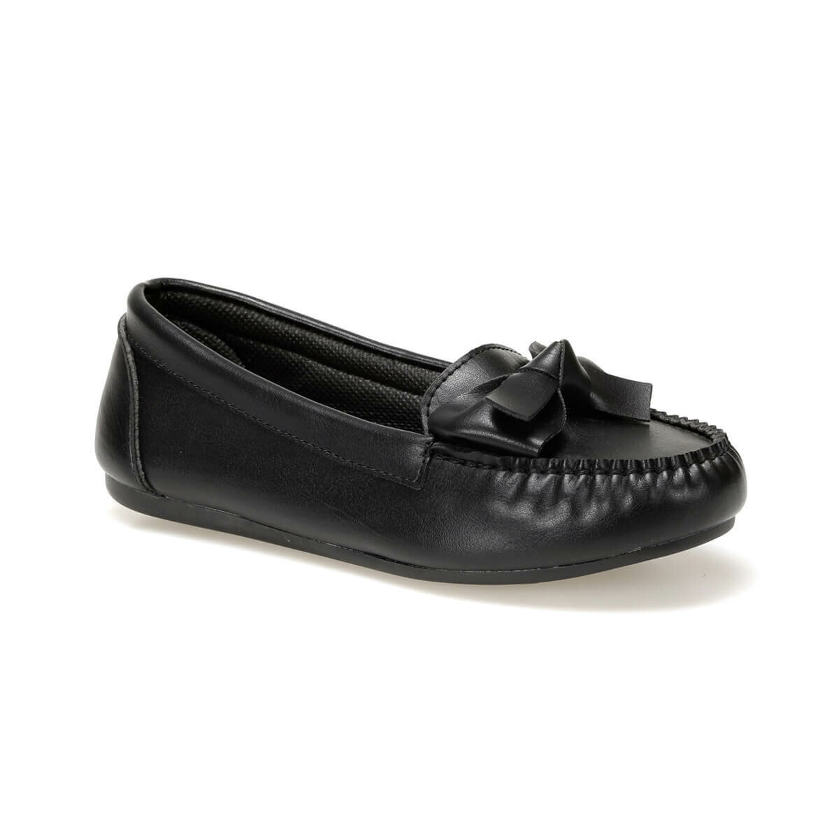 FLO DW17057-19K Black Women Loafer Shoes Miss F