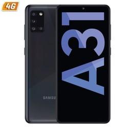 Samsung galaxy a31 Призма раздавить черный мобильный телефон-6,4 '/16,2 см-cam (48 + 5 + 8 + 5)/20mp - oc - 64 ГБ, 4 Гб оперативной памяти-android-4g