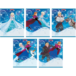 Notebook frozen 12 sheets line