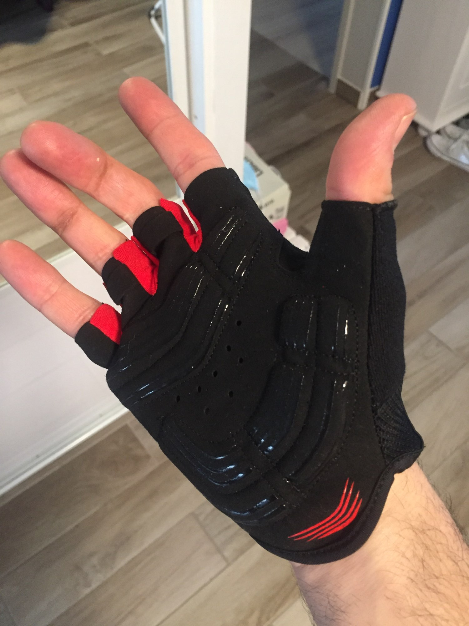 Professional Protective Anti-Slip Bicycle Gloves photo review