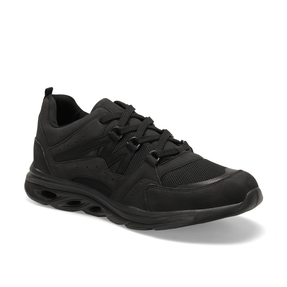 FLO CTN14 Black Male Sports Shoes Forester