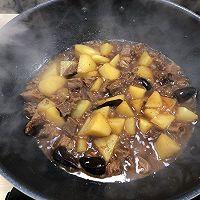 土豆牛腩组合套餐的做法图解9