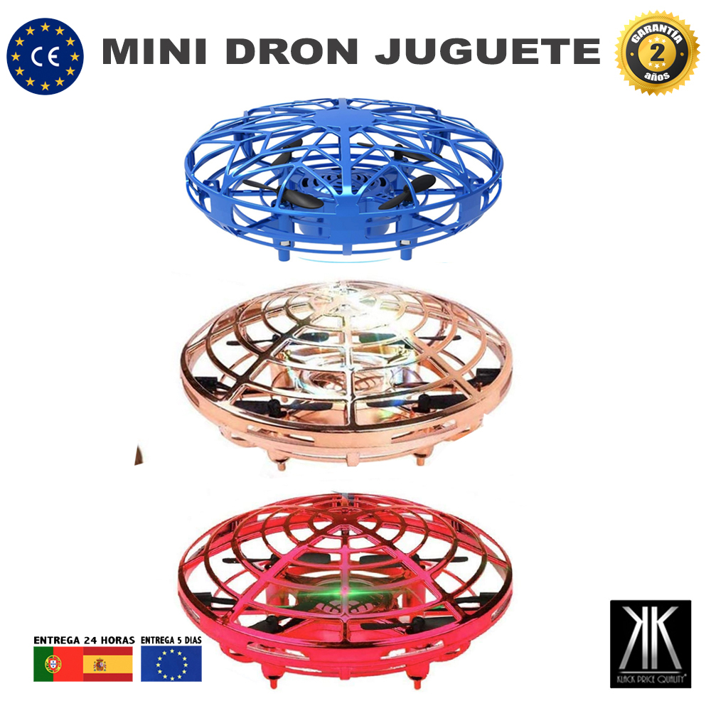 Mini Drone for Children and Adults Helicopter with LED Lights Interactive Flying Toy Infrared Gifts Boy Girl