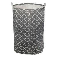 Laundry basket Grey 111102|Foldable Storage Bags| |  -